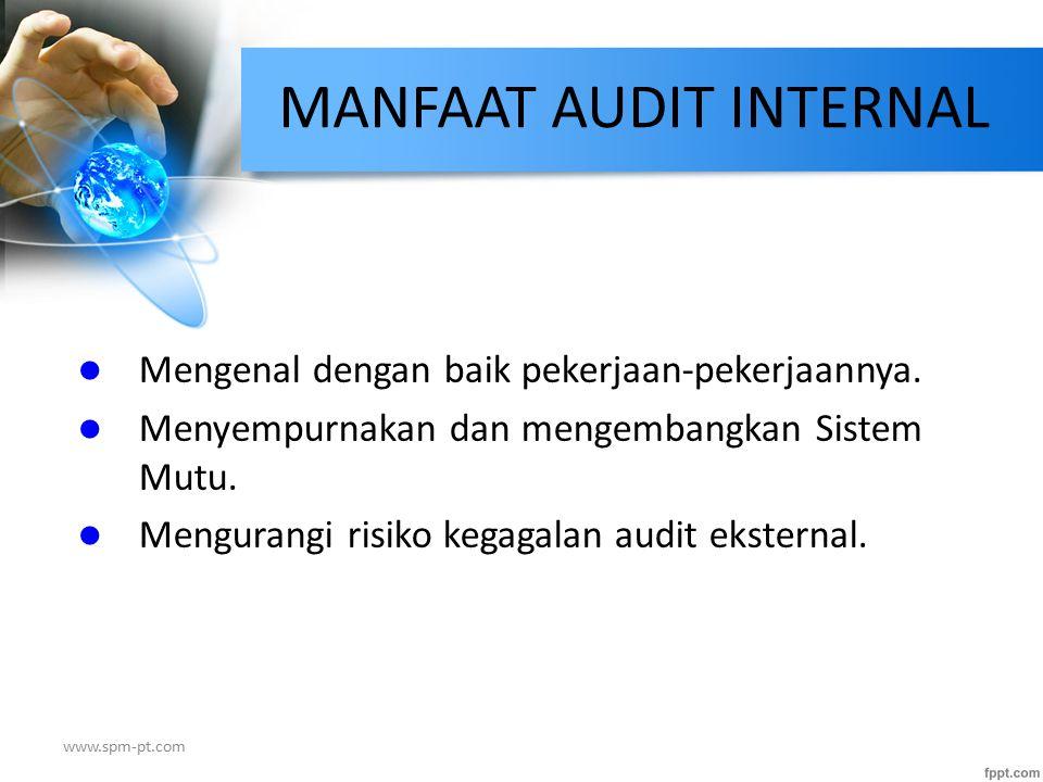 MANFAAT AUDIT INTERNAL
