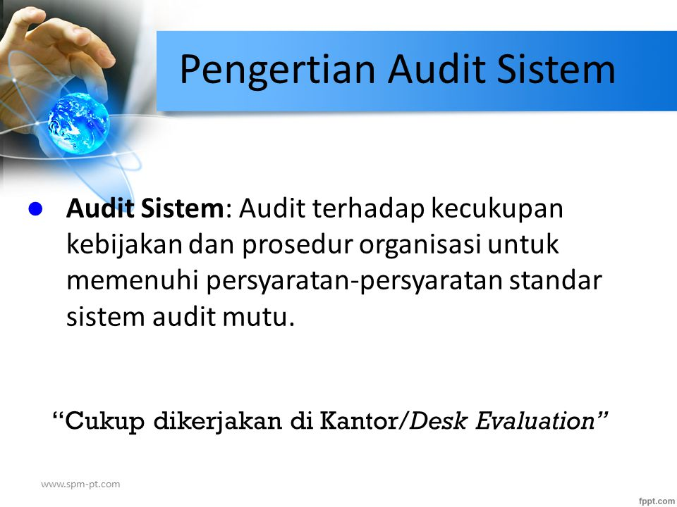 Pengertian Audit Sistem