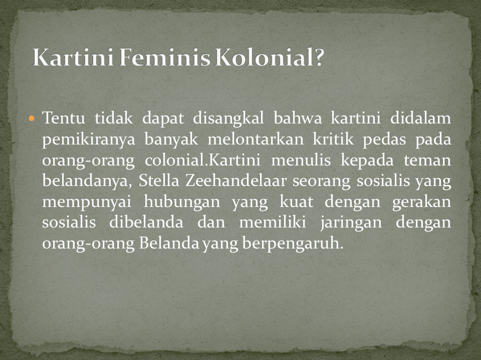 Kartini Feminis Kolonial