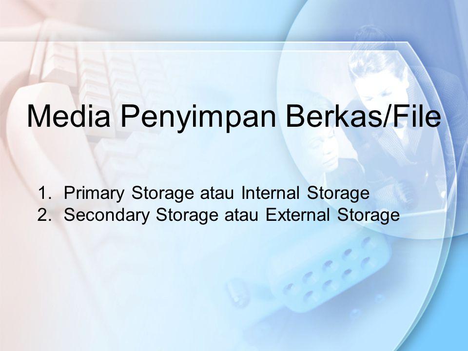 Media Penyimpan Berkas/File