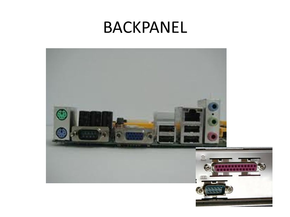 BACKPANEL