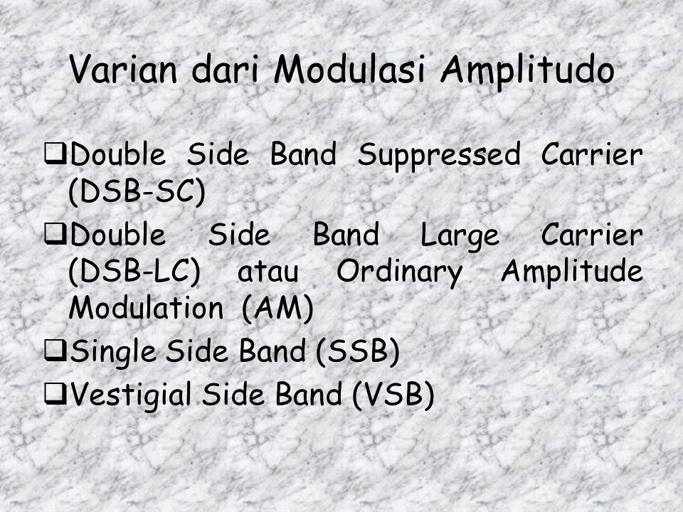 Varian dari Modulasi Amplitudo