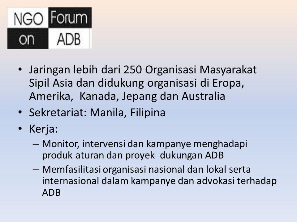 Sekretariat: Manila, Filipina Kerja: