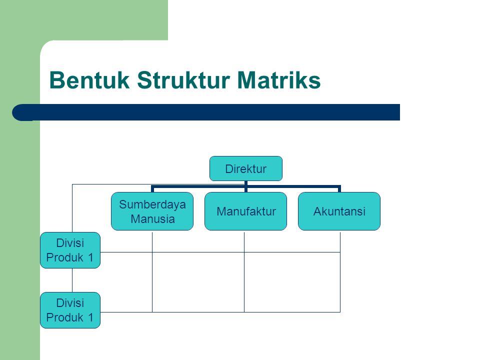 Bentuk Struktur Matriks