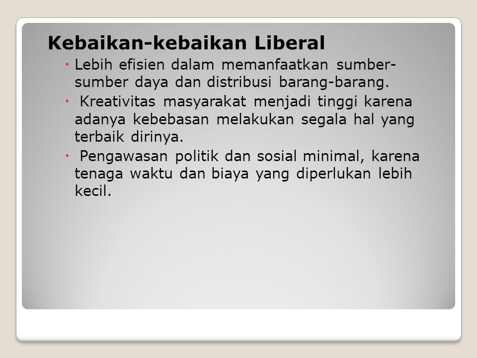 Kebaikan-kebaikan Liberal