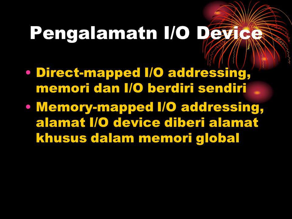 Pengalamatn I/O Device