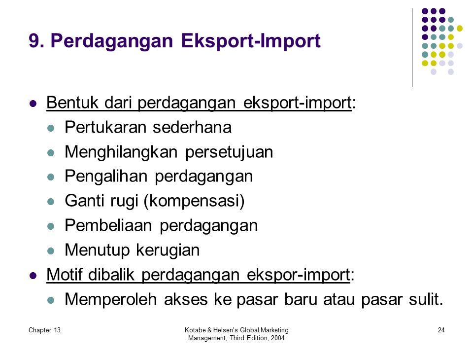 9. Perdagangan Eksport-Import
