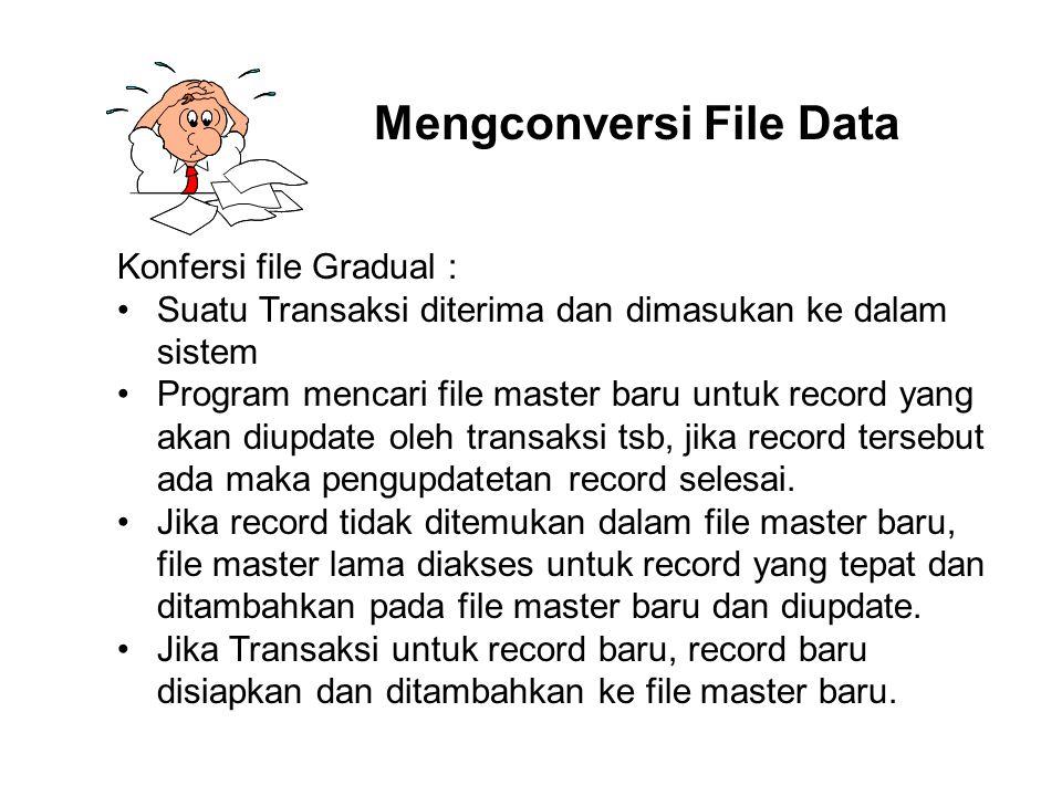 Mengconversi File Data