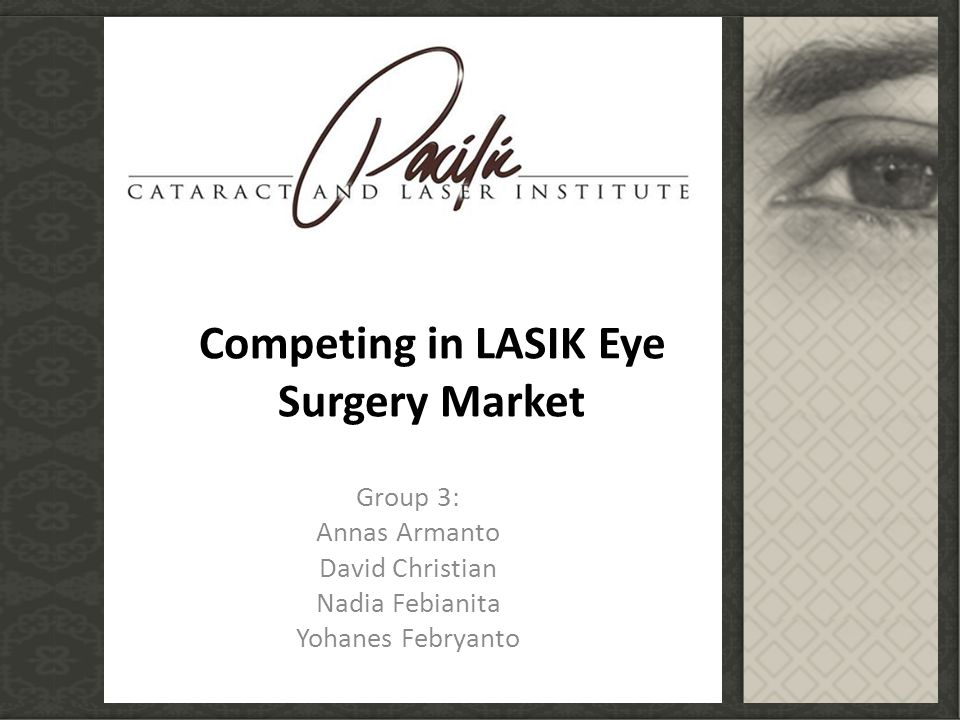 Competing in LASIK Eye Surgery Market