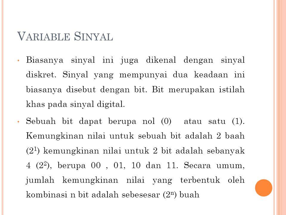 Variable Sinyal