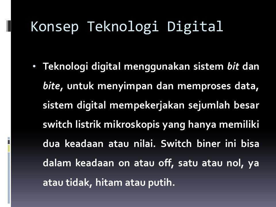 Konsep Teknologi Digital