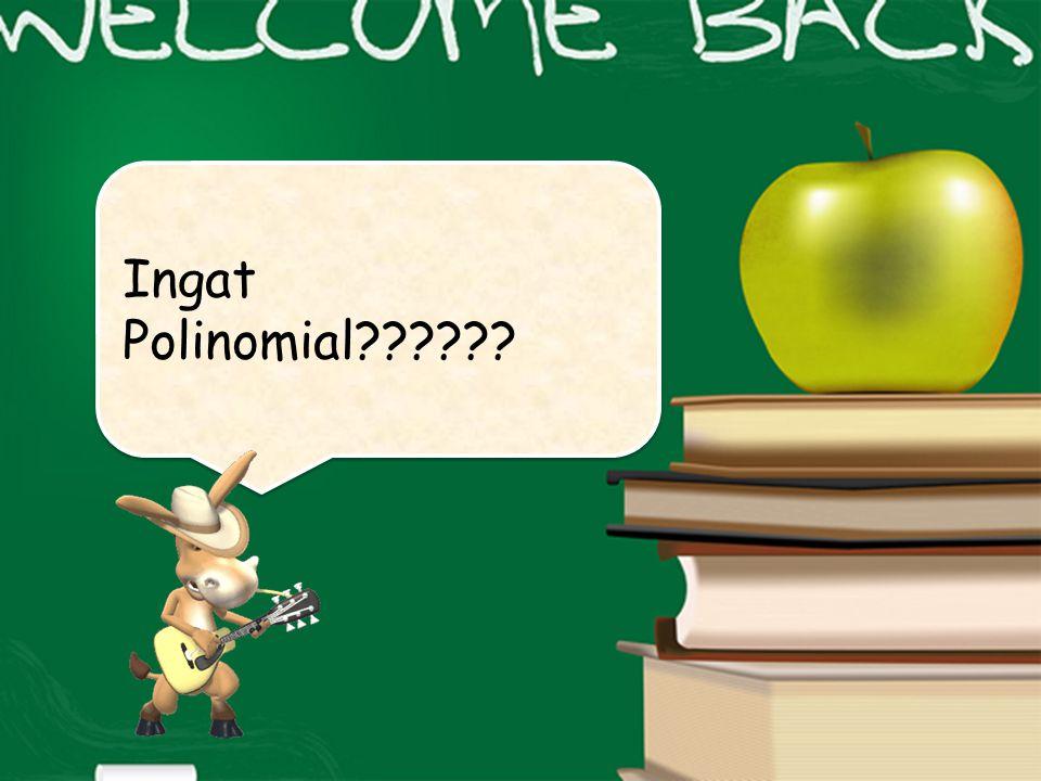 Ingat Polinomial