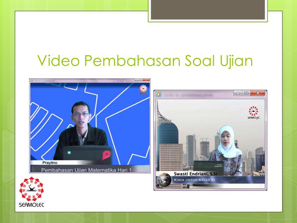 Video Pembahasan Soal Ujian