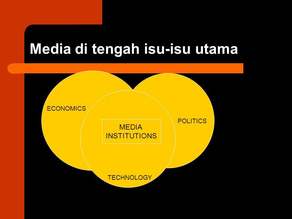 Media di tengah isu-isu utama