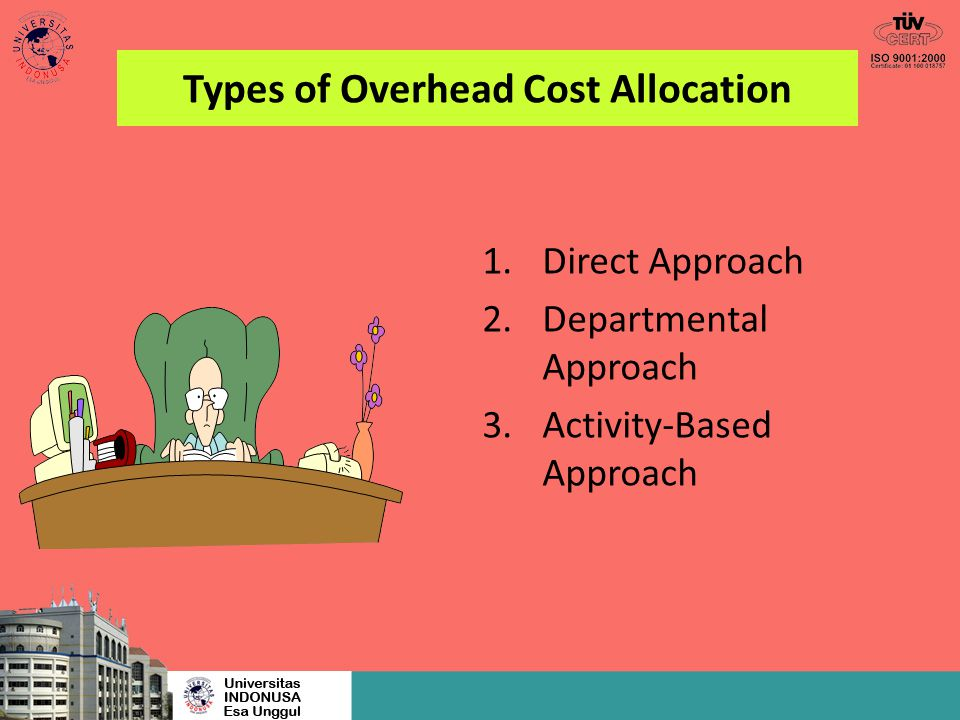 Types of Overhead Cost Allocation