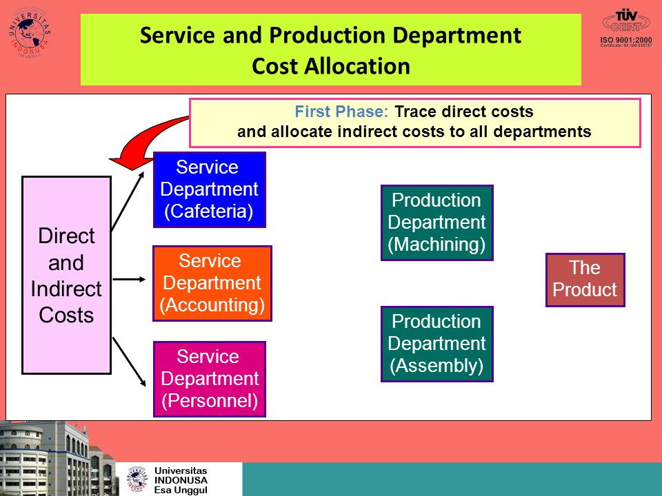 the production department essay The impact of non-production departments on effective logistics and operations performance effective logistics: introduction this study aims at discussing the e.