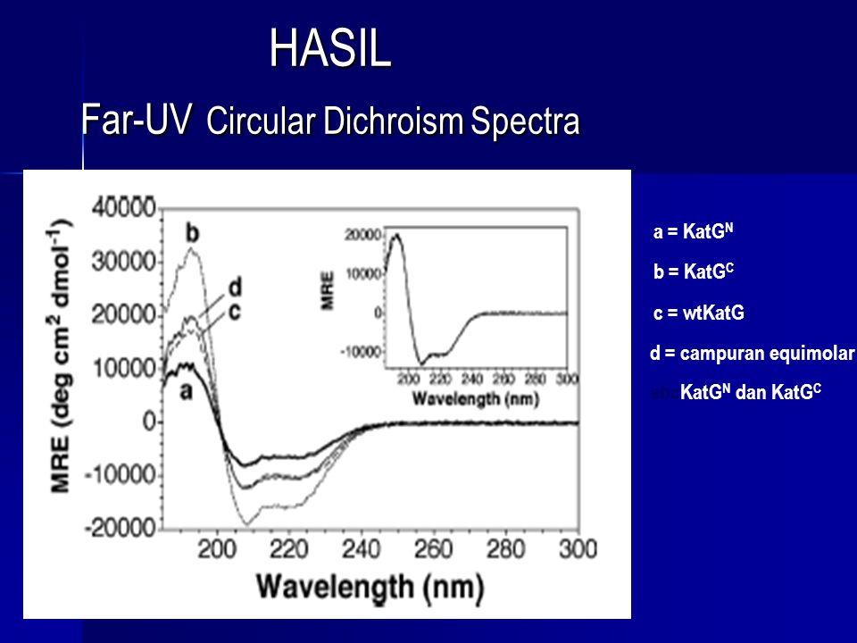 HASIL Far-UV Circular Dichroism Spectra
