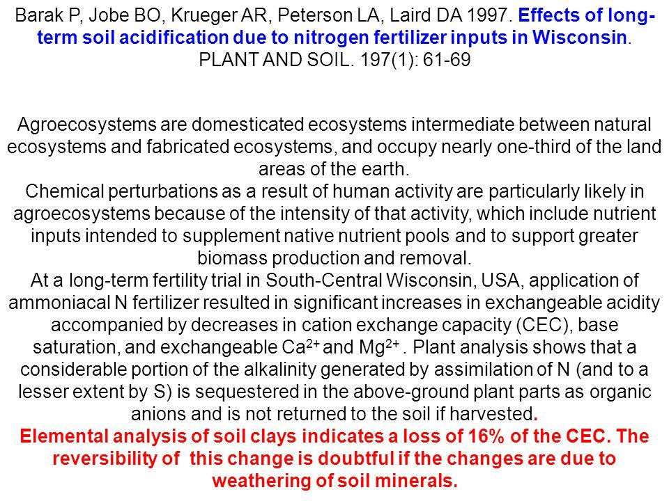 Barak P, Jobe BO, Krueger AR, Peterson LA, Laird DA 1997