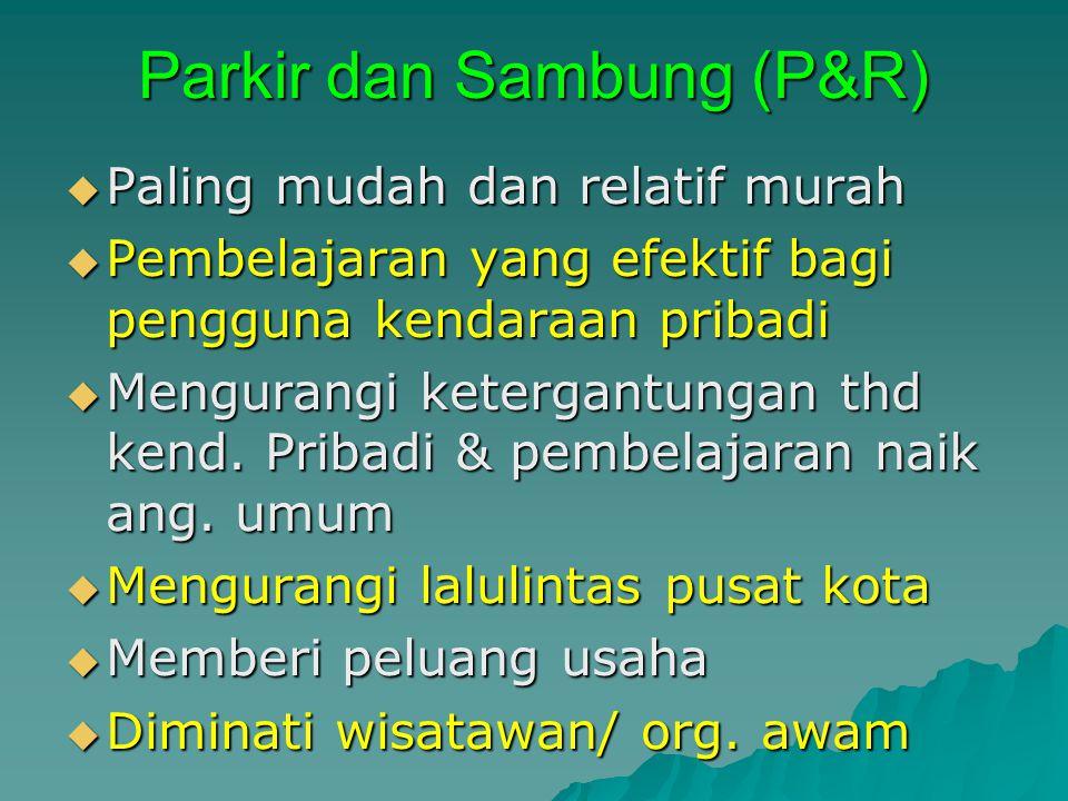 Parkir dan Sambung (P&R)