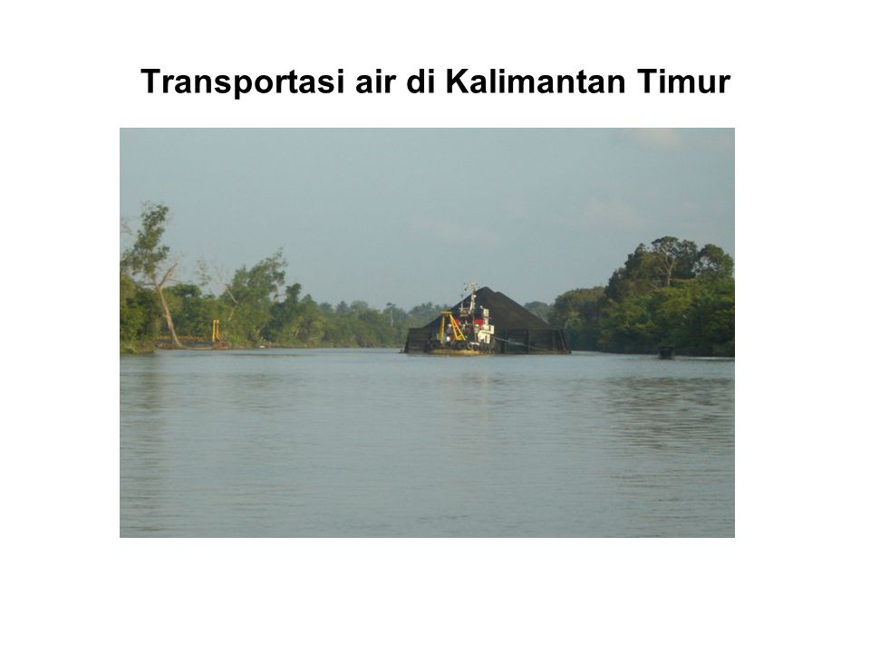 Transportasi air di Kalimantan Timur