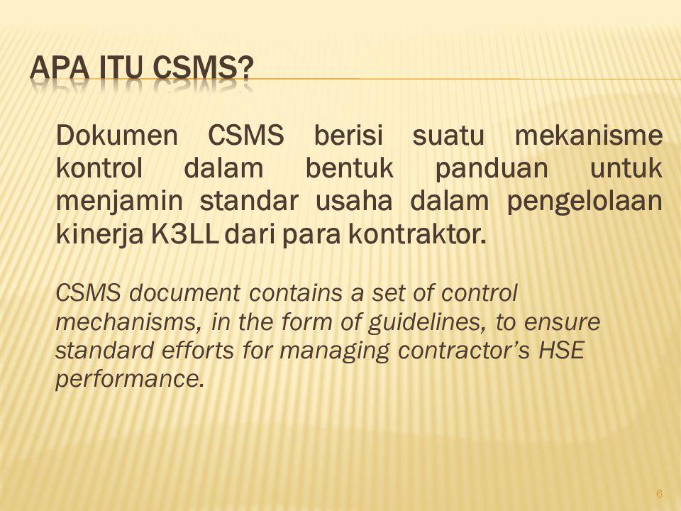 Apa Itu CSMS