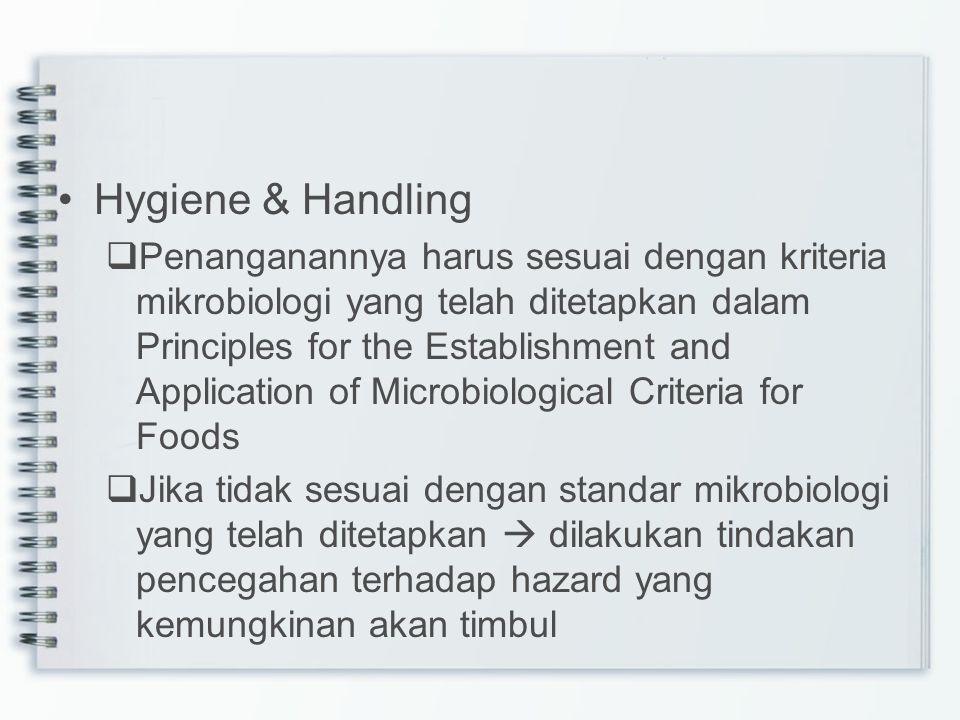 Hygiene & Handling