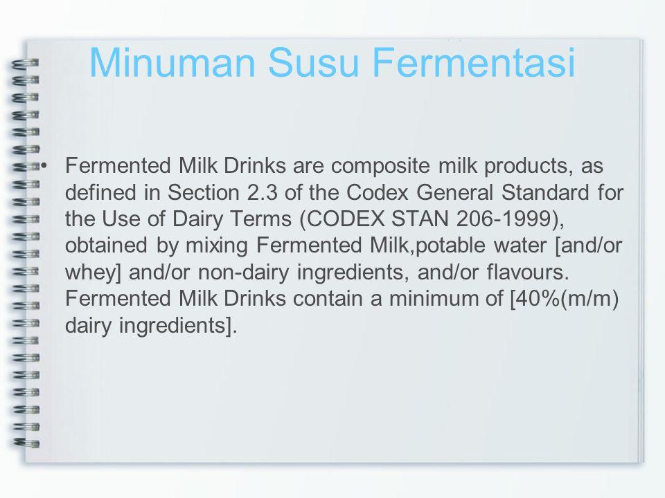 Minuman Susu Fermentasi