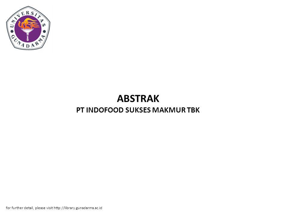 ABSTRAK PT INDOFOOD SUKSES MAKMUR TBK
