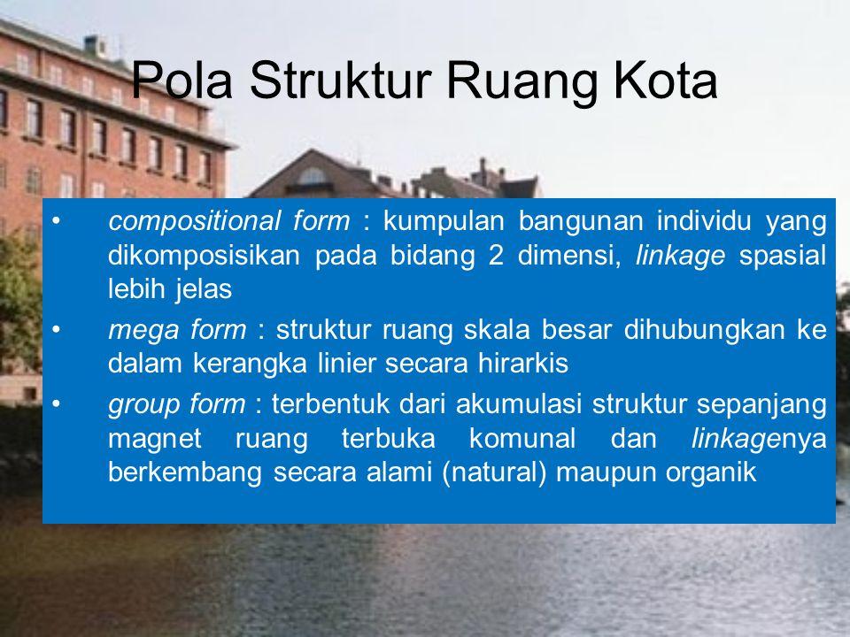 Pola Struktur Ruang Kota