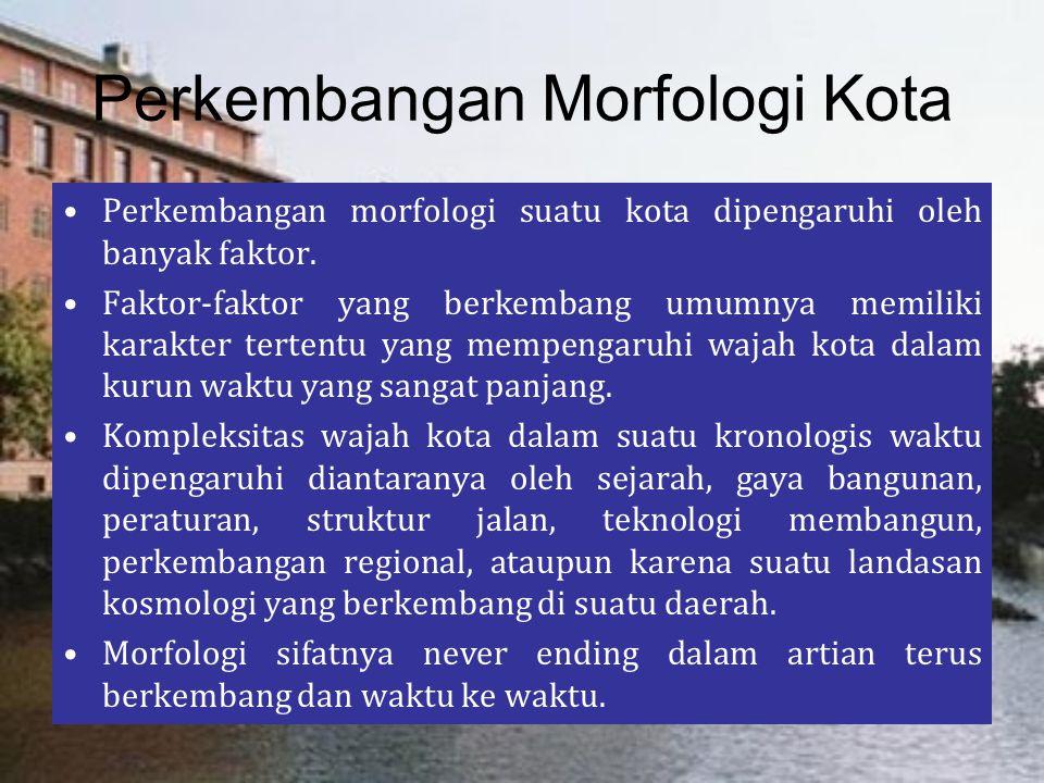 Perkembangan Morfologi Kota
