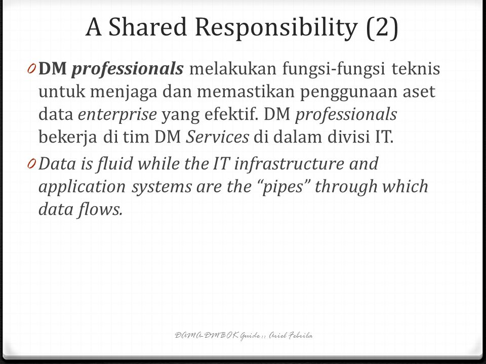 A Shared Responsibility (2)