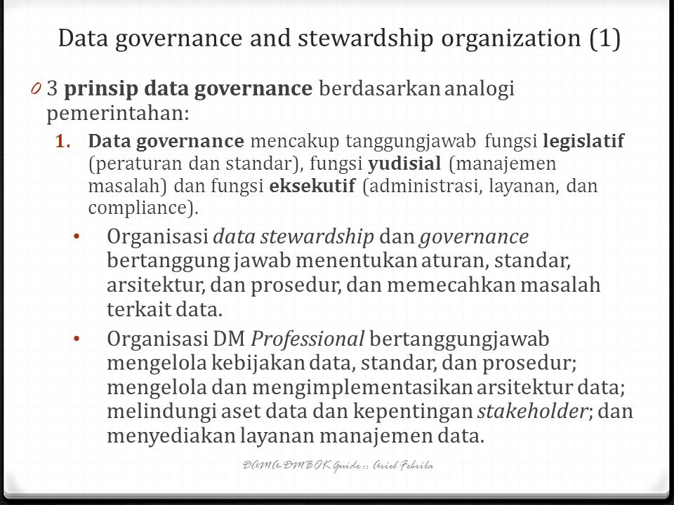 Data governance and stewardship organization (1)