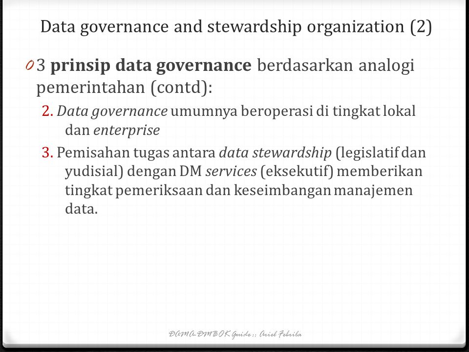 Data governance and stewardship organization (2)