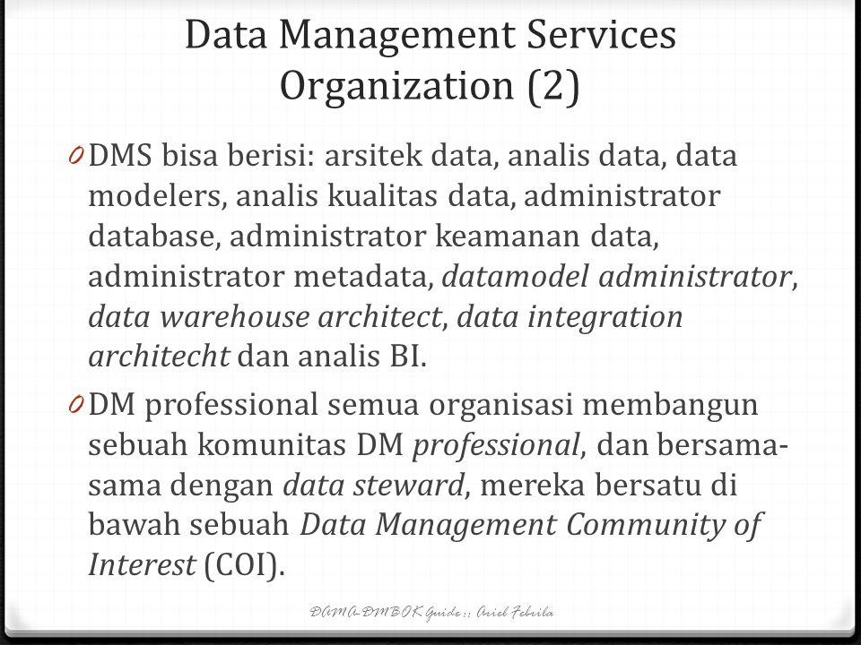 Data Management Services Organization (2)