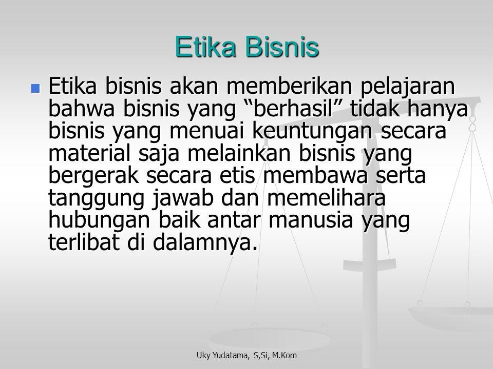 Etika Bisnis