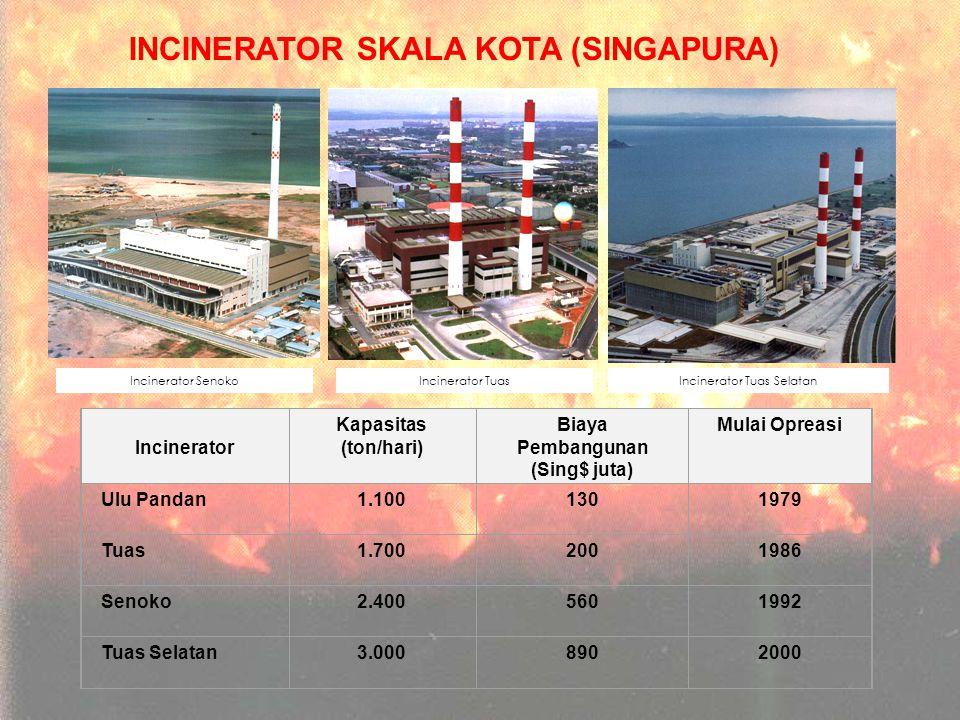 INCINERATOR SKALA KOTA (SINGAPURA)