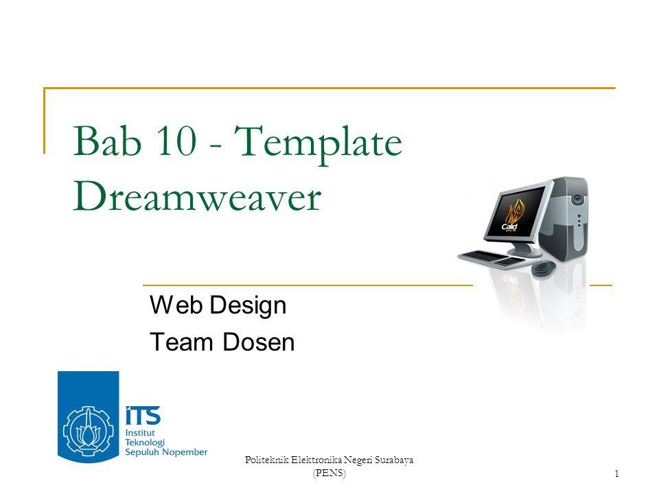 Bab 10 - Template Dreamweaver