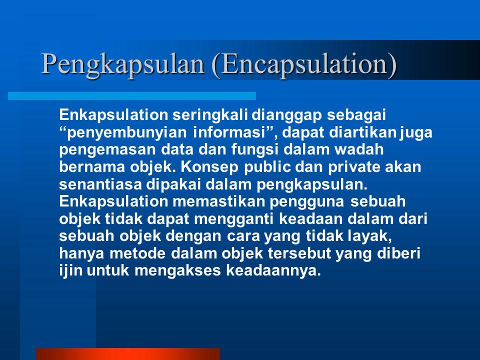 Pengkapsulan (Encapsulation)