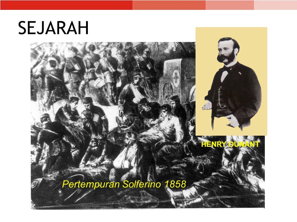 SEJARAH HENRY DUNANT Pertempuran Solferino 1858