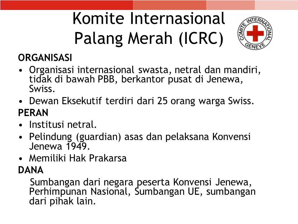 Komite Internasional Palang Merah (ICRC)