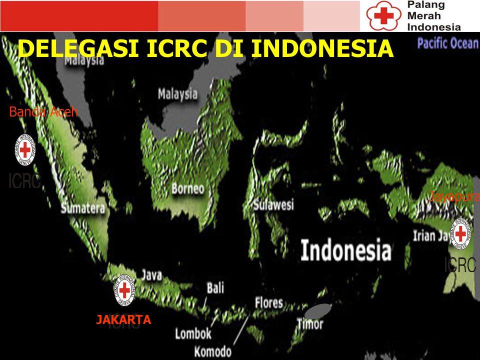 DELEGASI ICRC DI INDONESIA