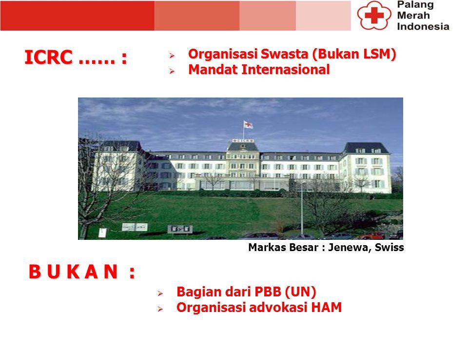 Markas Besar : Jenewa, Swiss