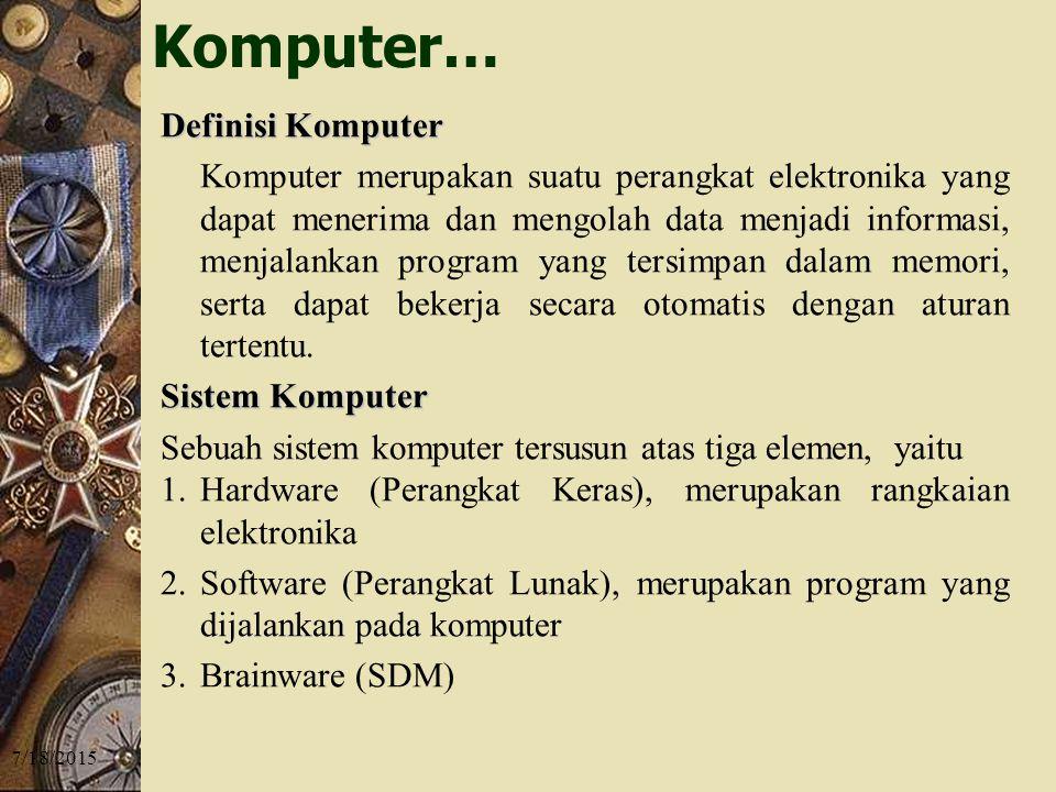 Komputer… Definisi Komputer