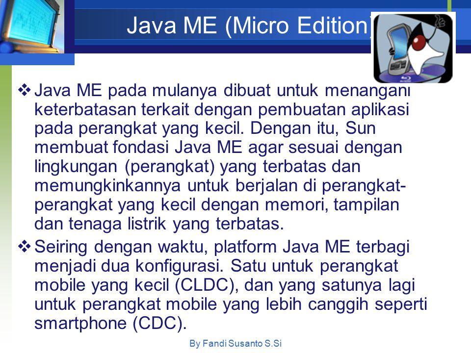 Java ME (Micro Edition)