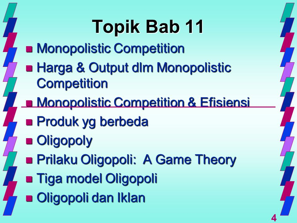 Topik Bab 11 Monopolistic Competition