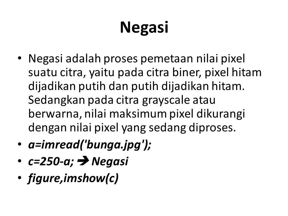 Negasi