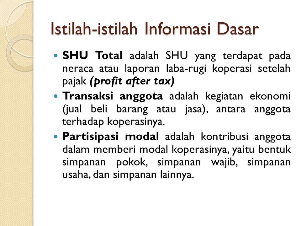 Istilah-istilah Informasi Dasar