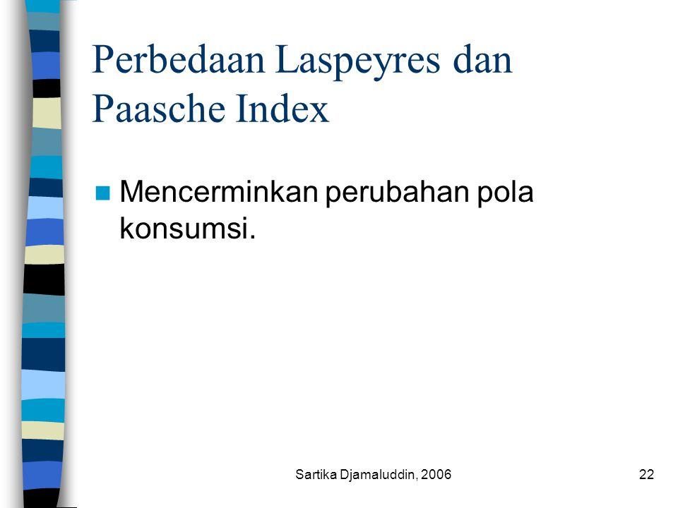 Perbedaan Laspeyres dan Paasche Index