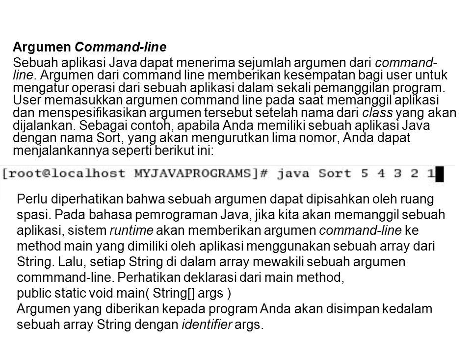 Argumen Command-line