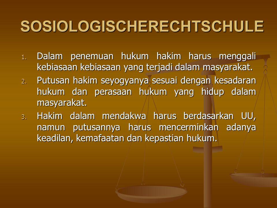 SOSIOLOGISCHERECHTSCHULE